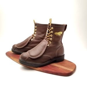 """Royer 7.5M 9L Inc. 8"""" Safety Boot SteelToe Leather"""